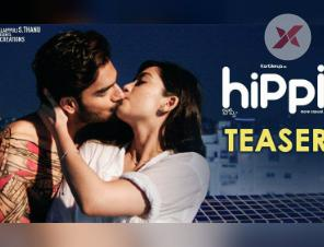 Hippi Teaser: RX100 hero and his tryst with lip-lock scenes continues