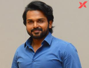 Karthi Interview Stills