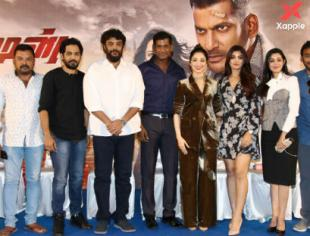 Action movie press meet photos