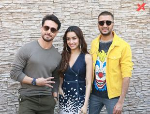 Tiger Shroff, Shraddha Kapoor & Riteish Deshmukh for the promotions of film Baaghi 3 at Sun n Sand in Juhu - Photos