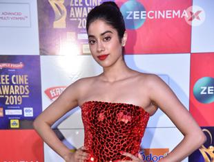 Janhvi Kapoor at Zee Cine Awards 2019 in Mumbai
