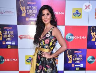Katrina Kaif at Zee Cine Awards Red Carpet - Photos