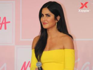 Katrina Kaif at her new makeup brand launch event