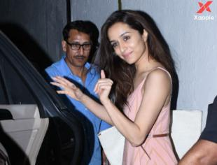 Shraddha Kapoor spotted at Dharma films office in Bandra, Mumbai