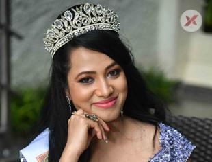 Nibedita Biswal Miss Elegant Asia Pacific 2018 Press Meet