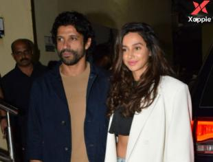 Bollywood celebrities at The Sky is Pink movie screening at PVR Juhu