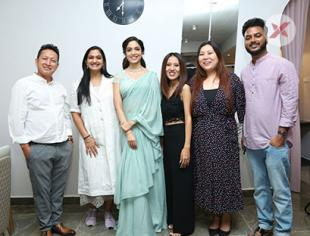 Ritu Varma Grand Opening LINCY'S NAIL BAR SALON at Road No.10, Jubilee Hills