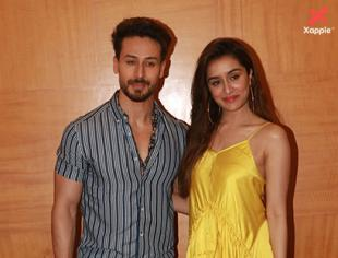 Tiger Shroff & Shraddha Kapoor atBaaghi 3 movie promotions in Juhu - Photos