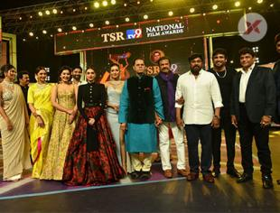 TSR TV9 National Awards Photos