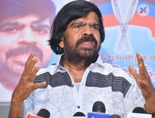 T. Rajendar Political Press Meet photos