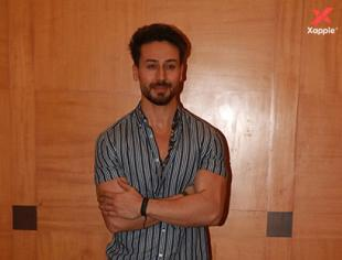 Tiger Shroff at Baaghi 3 movie promotions in Juhu - Photos