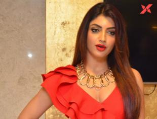 Akanksha Puri at Action Movie Pre Release Event - Photos