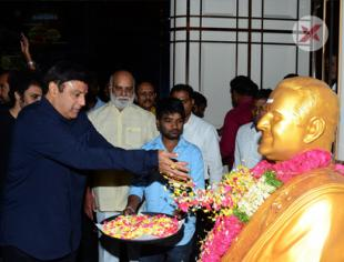 Celebrities at NTR Mahanayakudu Movie Premier Show at AMB Cinemas