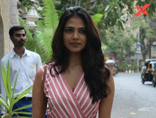 Malavika Mohanan Spotted at Juhu - Photos
