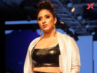 Raja Kumari at Lakme Fashion Week 2019
