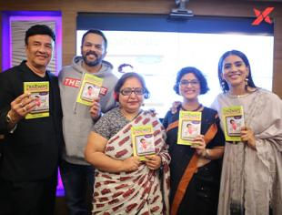 Rohit Shetty & Sonali Kulkarni launch Janhavi Samant's first book Faltugiri