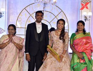 Dr.S.M Balaji Daughter Marriage Reception photos
