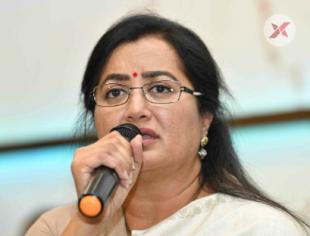 Sumalatha Ambareesh Press Meet Photos