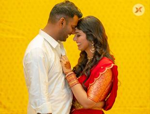 Vishal - Anisha Alla Reddy's Wedding Engagement photos