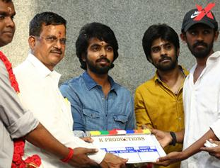 GV Prakash Kumar New Movie Launch Photos