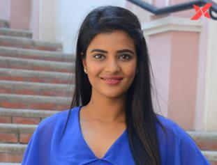 Aishwarya Rajesh at Kousalya Krishnamurthy movie success meet