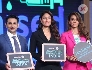 Kareena Kapoor at Serum Institute of India's Swasth Imunised India Campaign Launch at Worli
