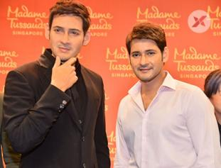 Mahesh Babu's Madame Tussauds Wax Statue Launch at AMB Theatre