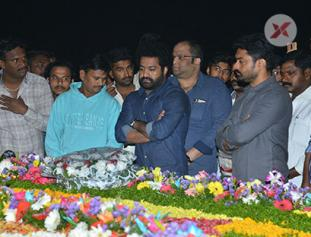 NTR Family Visit NTR Ghat Photos