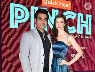 Arbaaz khan at launch of his new talk show PINCH