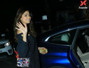 Photos - Shamita Shetty spotted at Hakkasan in Bandra