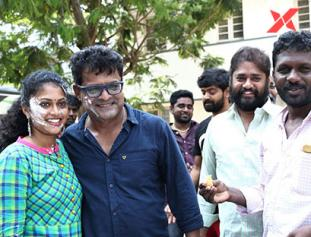 Bose Venkat's Kanni Maadam wraps shoot photos