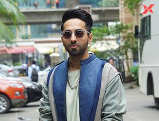 Ayushmann Khurrana interview photos for Dream Girl in Mumbai