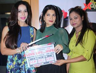 The Mahurat of The Film Love Life Wife With Mahi Khan, Director S.Pyarelal, Producer Kiran Patel