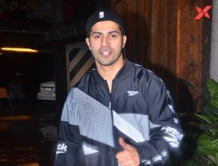 Varun Dhawan spotted at gym in Juhu - photos