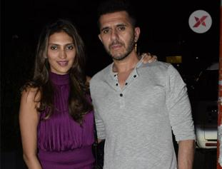 Ritesh Sidhwani & Dolly Sidhwani spotted at Soho House juhu - photos