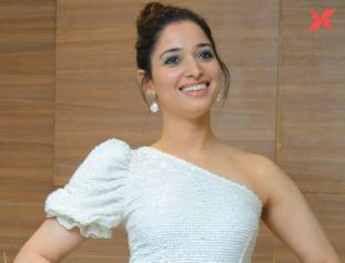 Milky Beauty Tamannaah at Action Movie Pre Release Event - Photos
