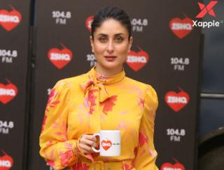 Kareena Kapoor at Mehboob studio for the shoot of Kareena's show