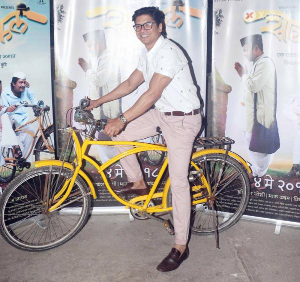 Screening of Marathi Movie Cycle at sunny super sound in juhu