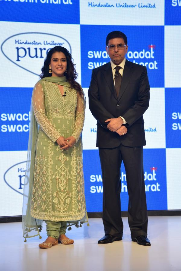 Kajol Launches 'Swachh Aadat, Swachh Bharat' Campaign