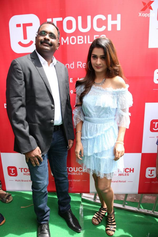 Payal Rajput Launches Grand Touch Mobiles Store at Dilsukhnagar