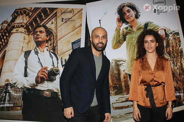 Sanya Malhotra & Director Ritesh Batra at the trailer launch of their film Photograph