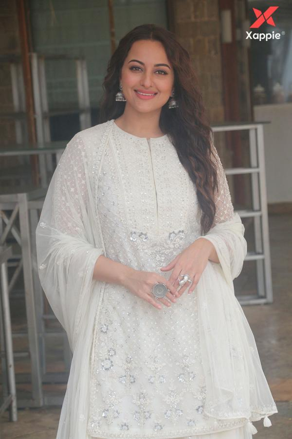 Sonakshi Sinha at the media interactions for her film Khandaani Shafakhana