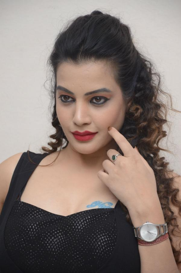 Deeksha Panth At Operation 2019 Movie Teaser Launch