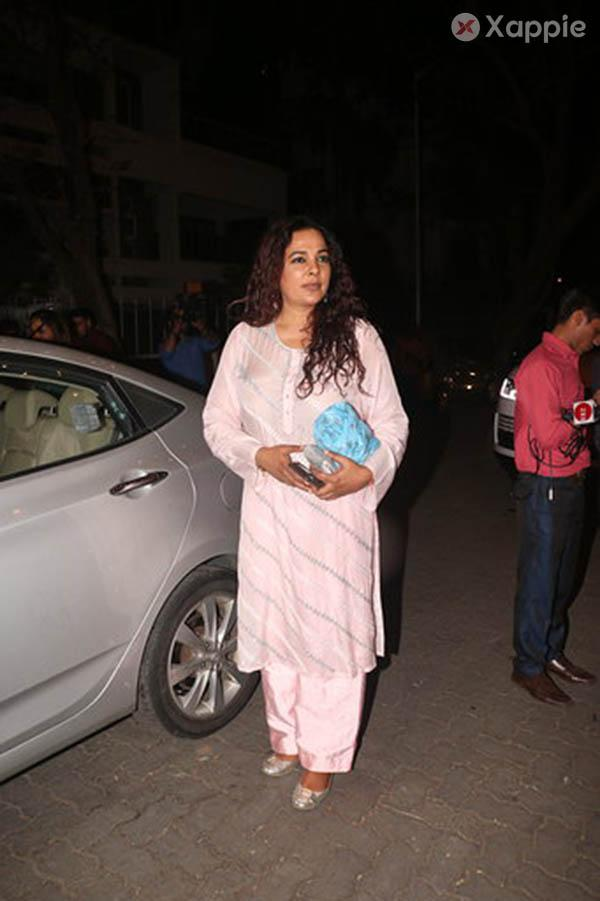 Naming ceremony of Ekta Kapoor's son at her Juhu Residence