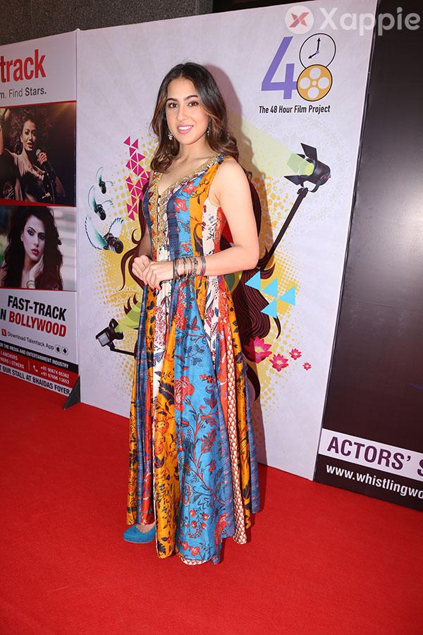 Sara Ali Khan inaugurates the Cintaa 48hours film project's Actfest