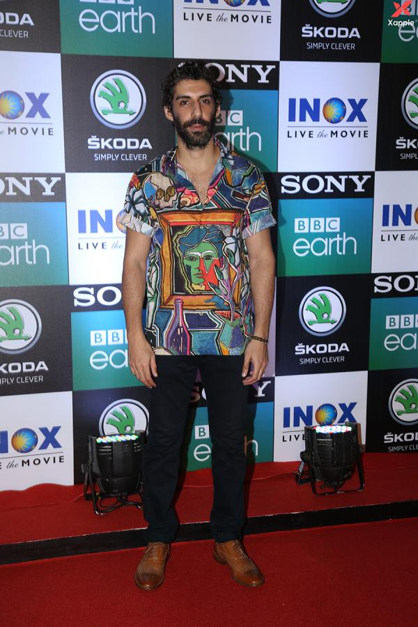Celebs at the screening of Sony BBC's series Dynasties at Worli