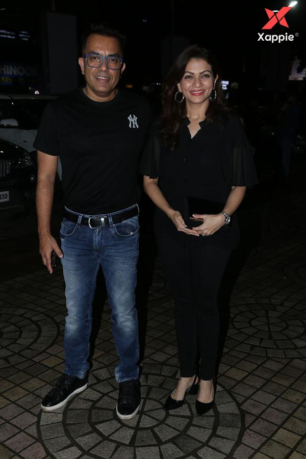 Bollywood Celebs at the Screening of film Dream Girl at PVR ECX in Andheri - Photos