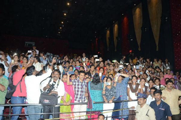 bhaagamathie Success Tour in Vijayawada