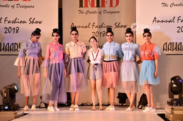 Aahaaryya INIFD (Inter National Institute of fashion design) Hi-tech City Fashion Show