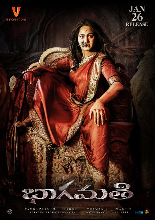 Anushka Bhaagamathie Movie Release Date Posters